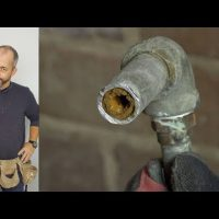 old lead pipe