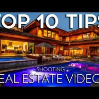 Real Estate Video preparing for home