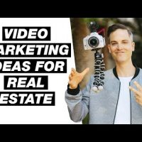real estate agents use video