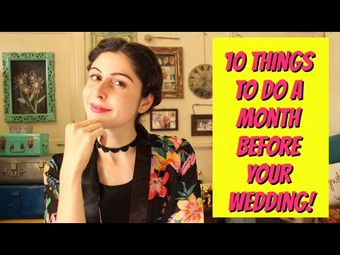 Helpful Tips for Preparing Yourself for a Wedding Day