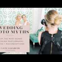 Myths and Misconceptions About Being a Wedding Photographer